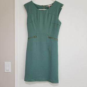 Tailored turquoise dress Size Small